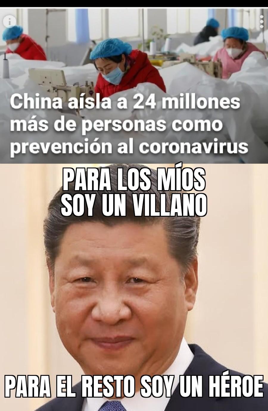 (Es el presidente de China) - meme