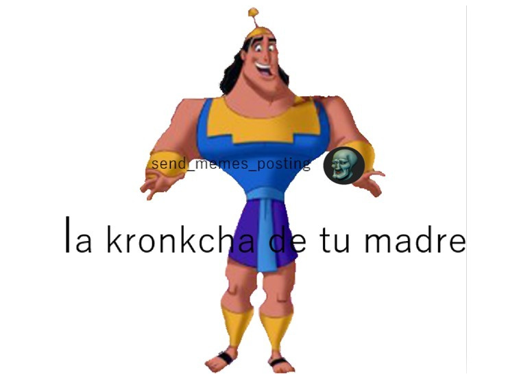 Kronk - meme