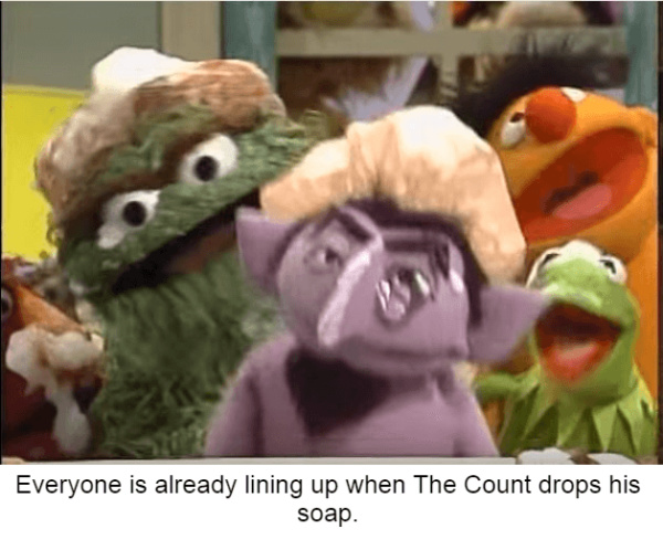 Count von Count is hot ngl - meme