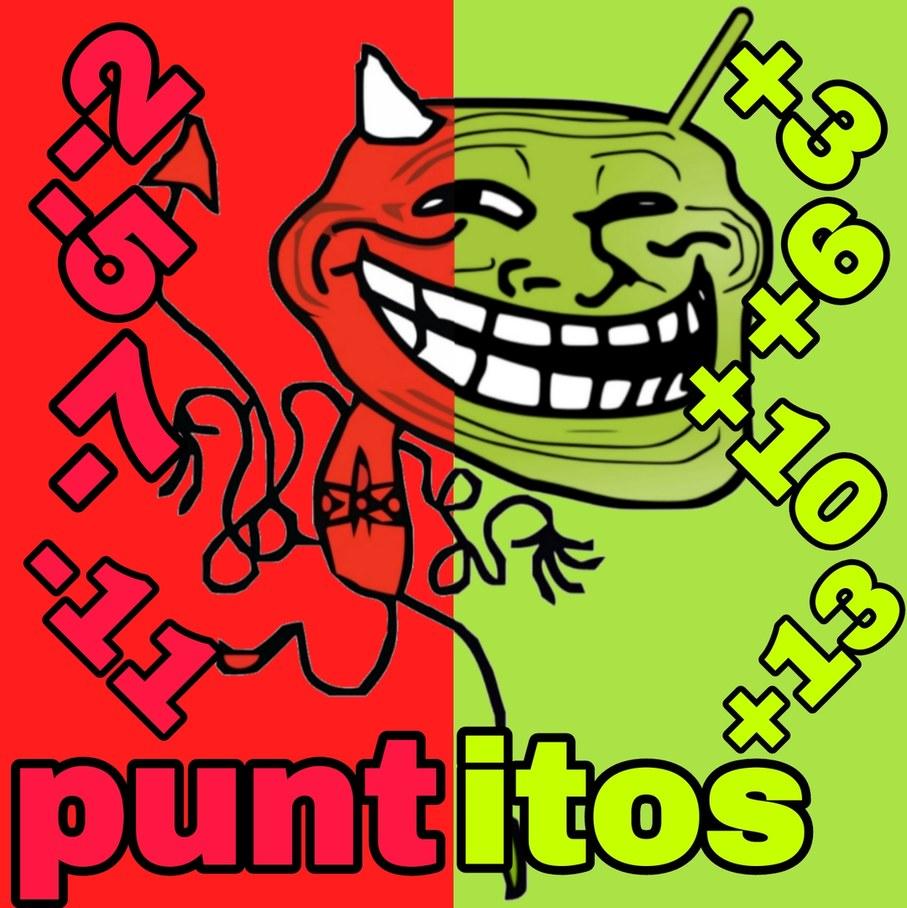 Puntitos - meme