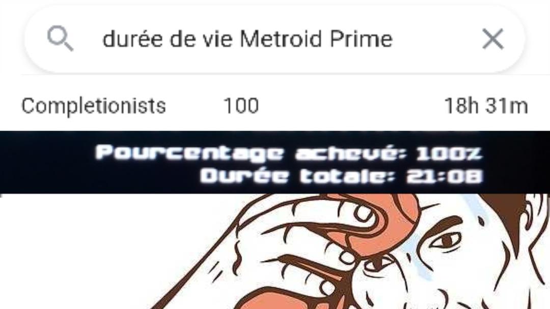 J'ai enfin fini Metroid Prime aaaaa - meme