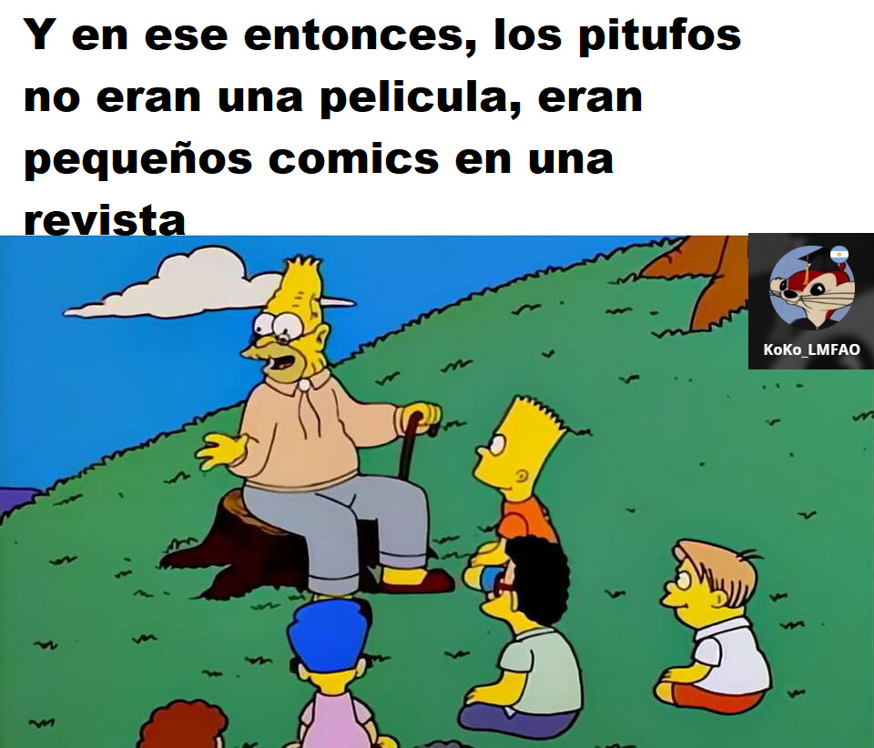 pitufos - meme