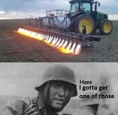 der Flammentraktor - meme