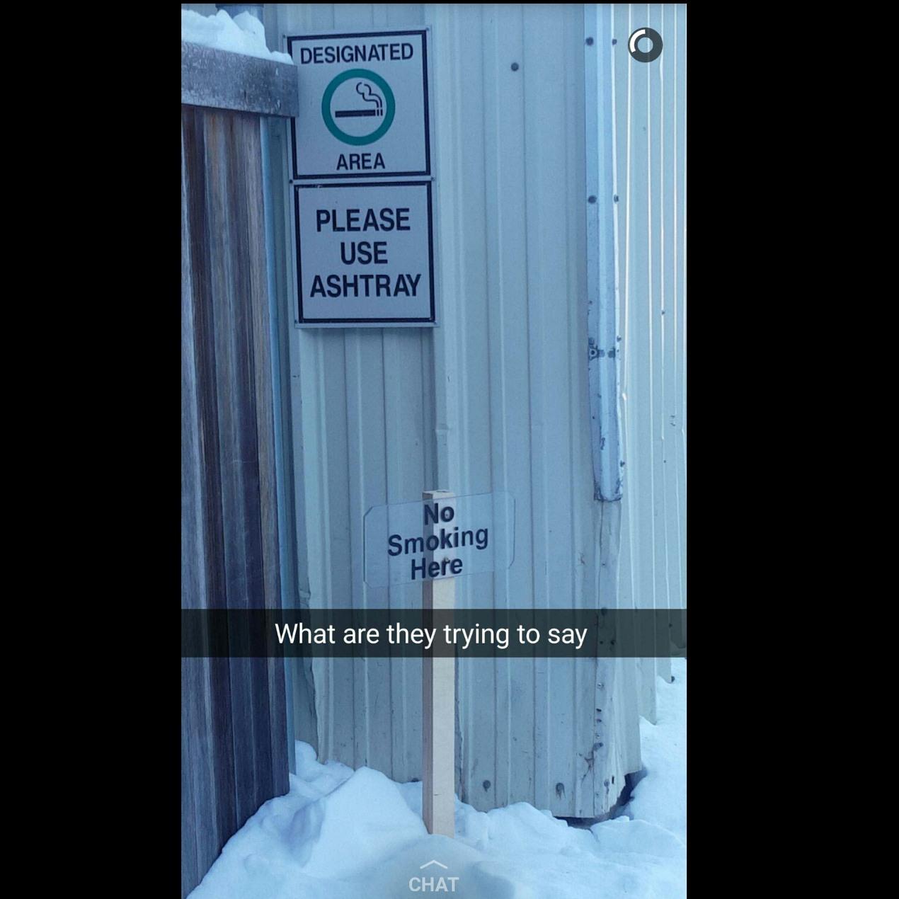But.. Where do I smoke.. - meme