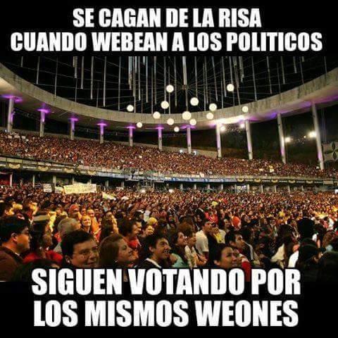 Realidad chilena - meme
