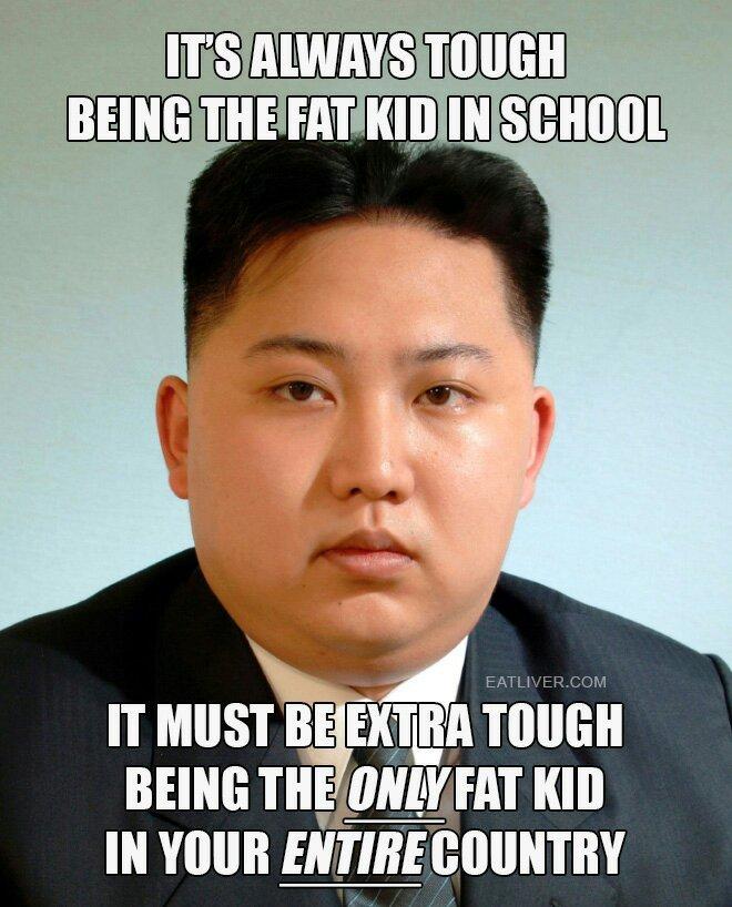 Kim fat un - meme