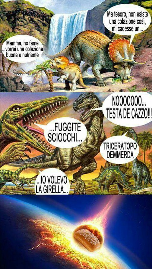 Triceratopi di merda - meme
