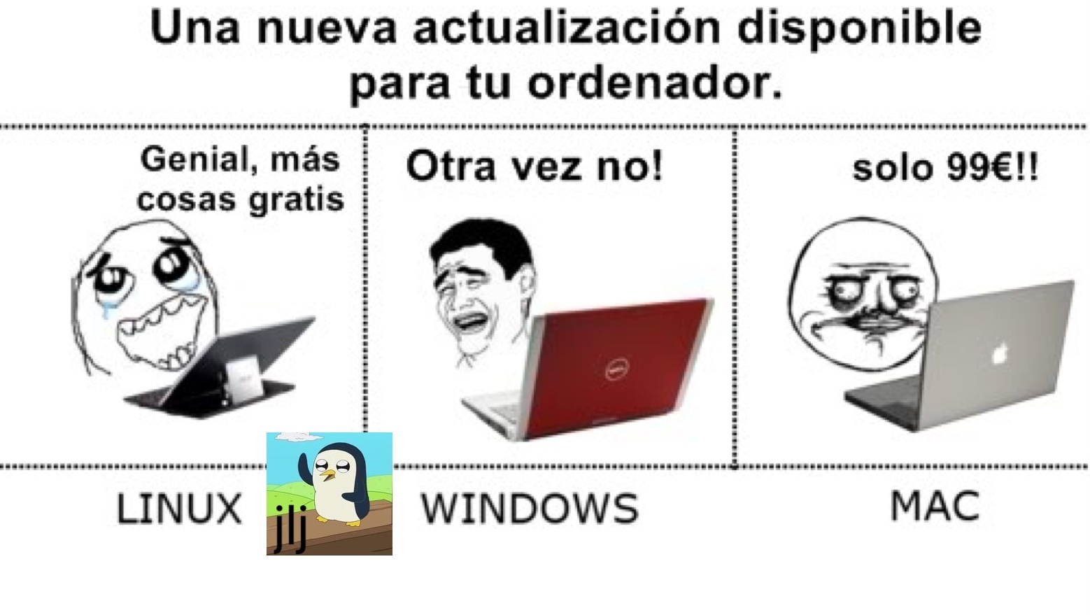 Linux op - meme