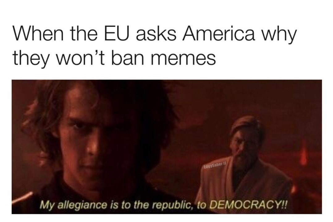 If you're not with me, then you're my enemy - meme