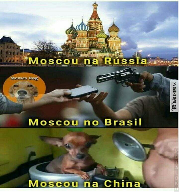 Moscou - meme