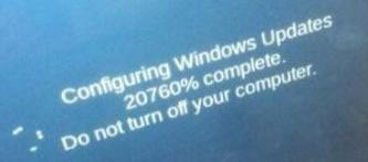 Computer updates be like - meme