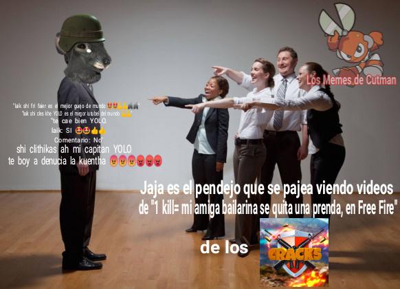 Un Meme sobre los Fan de YOLO xD