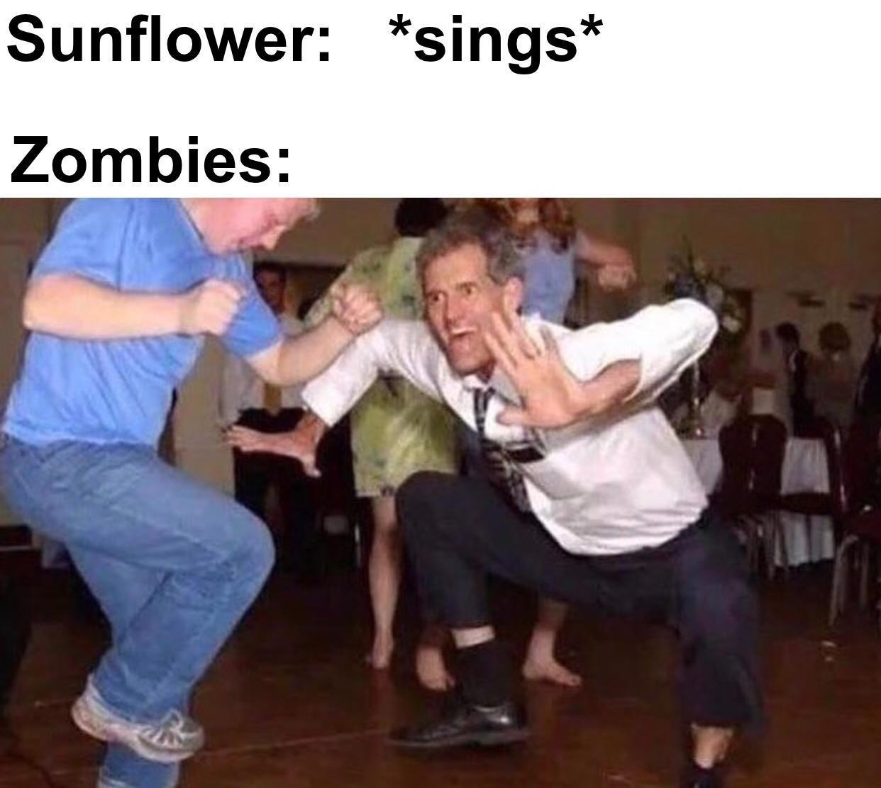 Al final la girasol canta pues ya saben - meme