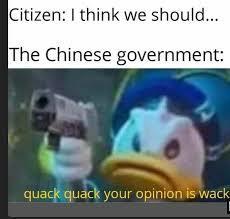 Wack quack - meme