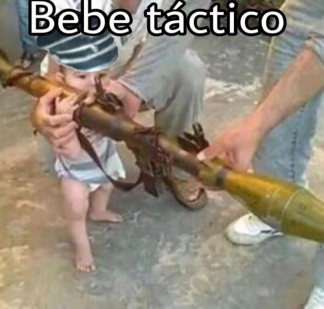 Bebé tactico - meme