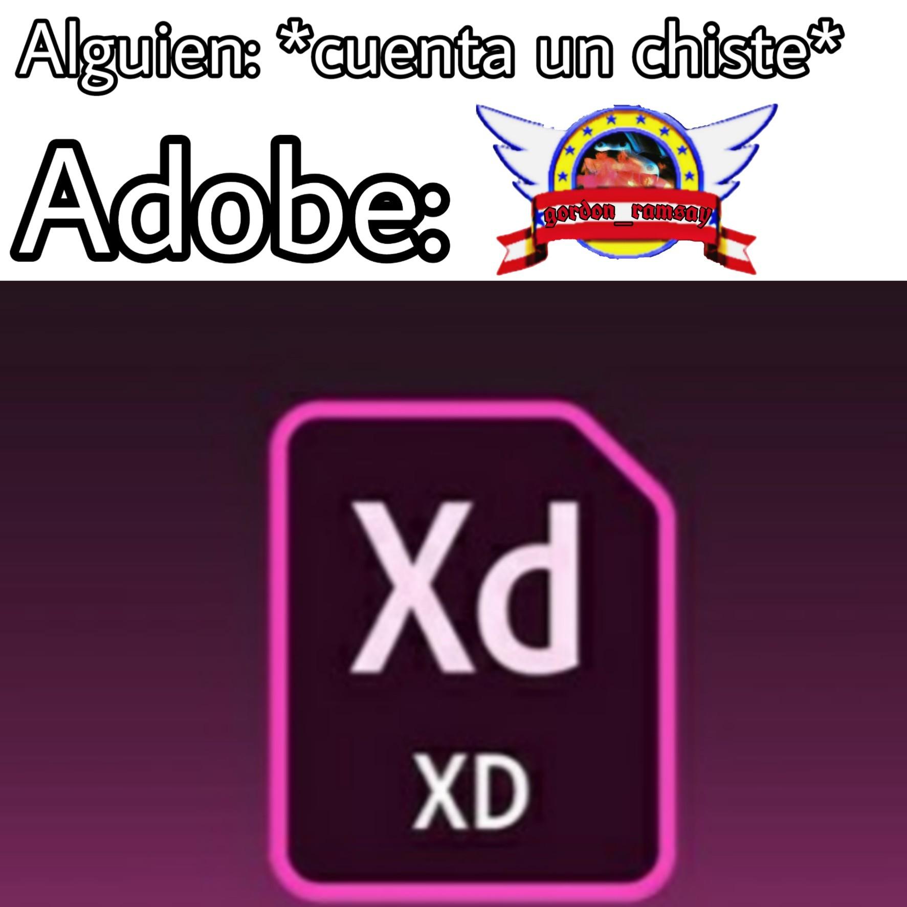 Adobe XD (? - meme