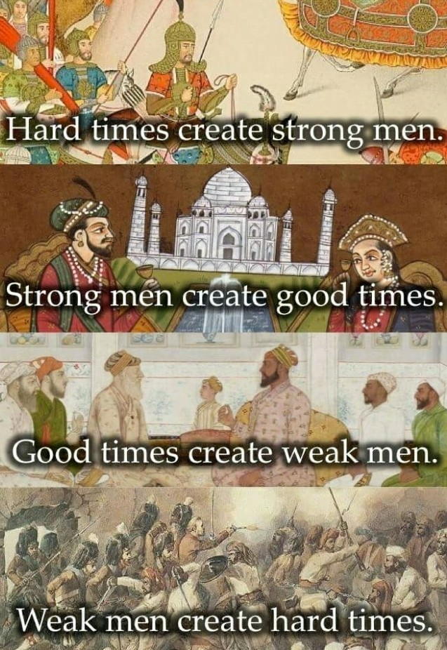 Soon we will once again have strong men - meme