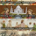 Soon we will once again have strong men