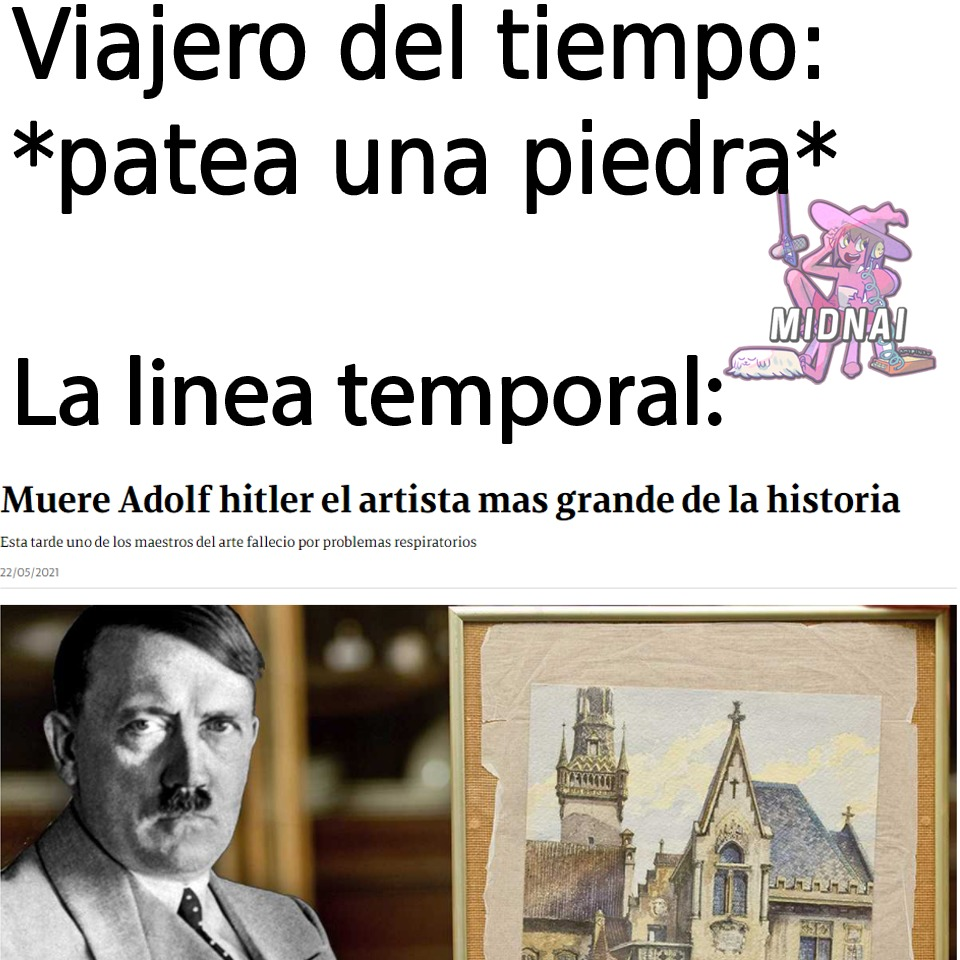 Hitler > davinci - meme