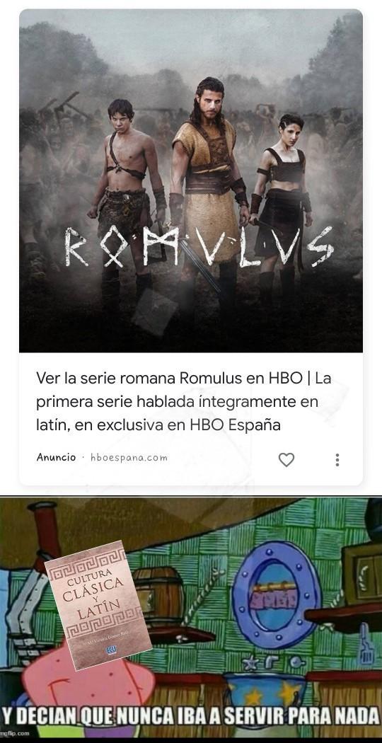 El meme esta en latín