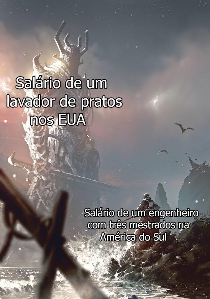 América do Sul = LIXO - meme