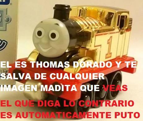 Nunca subestimen el poder de los trains - meme