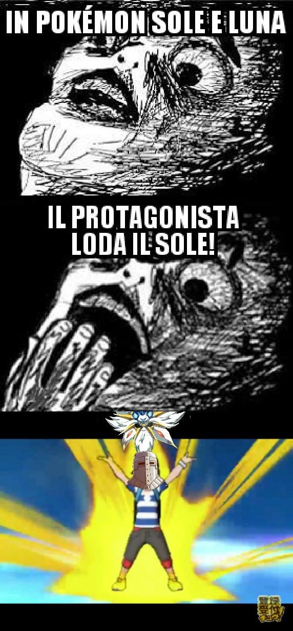 Lodate Solgaleo  /|┴|\ - meme