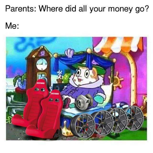 Aand I'm poor - meme