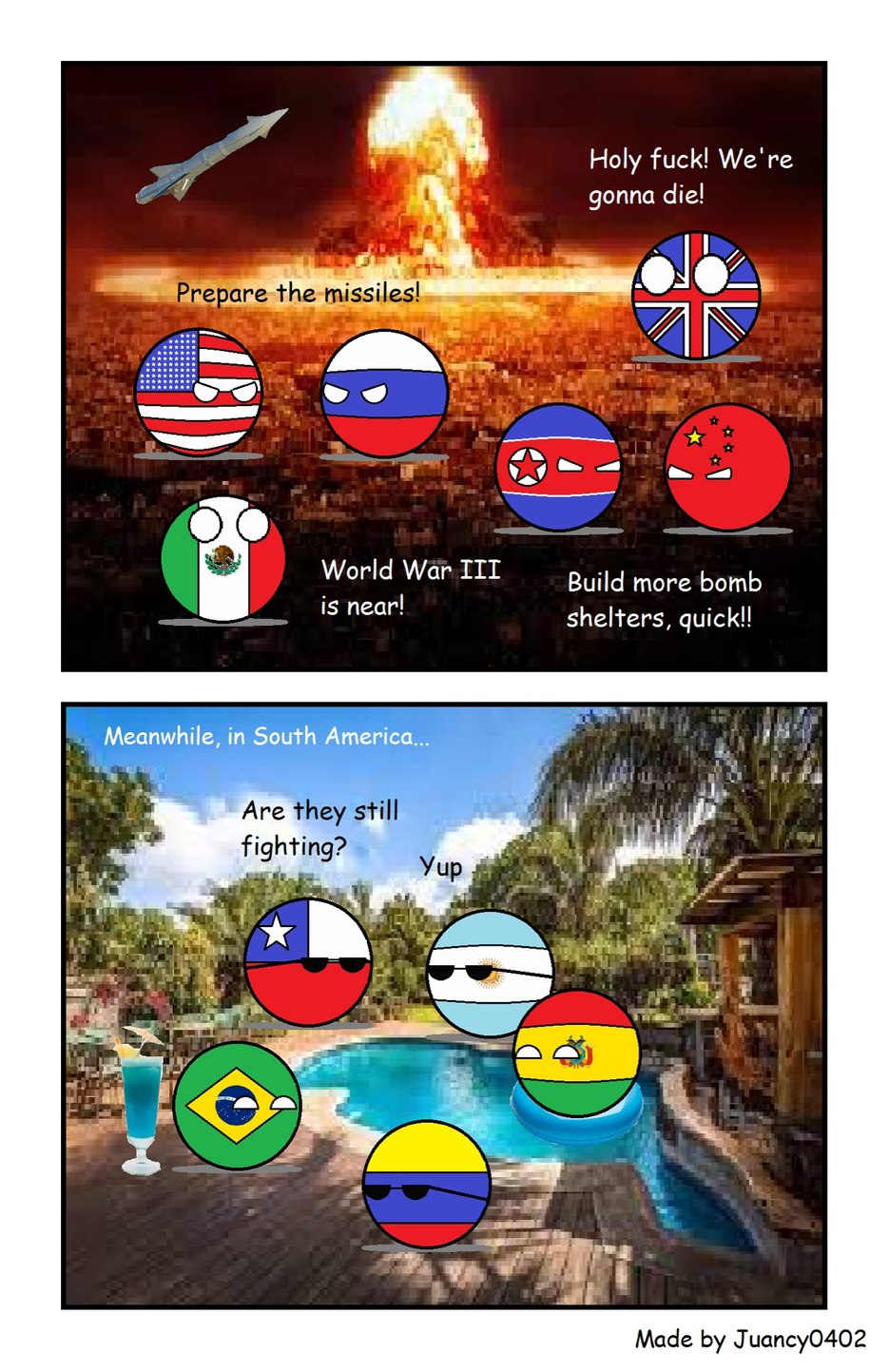South America will always remain :D - meme