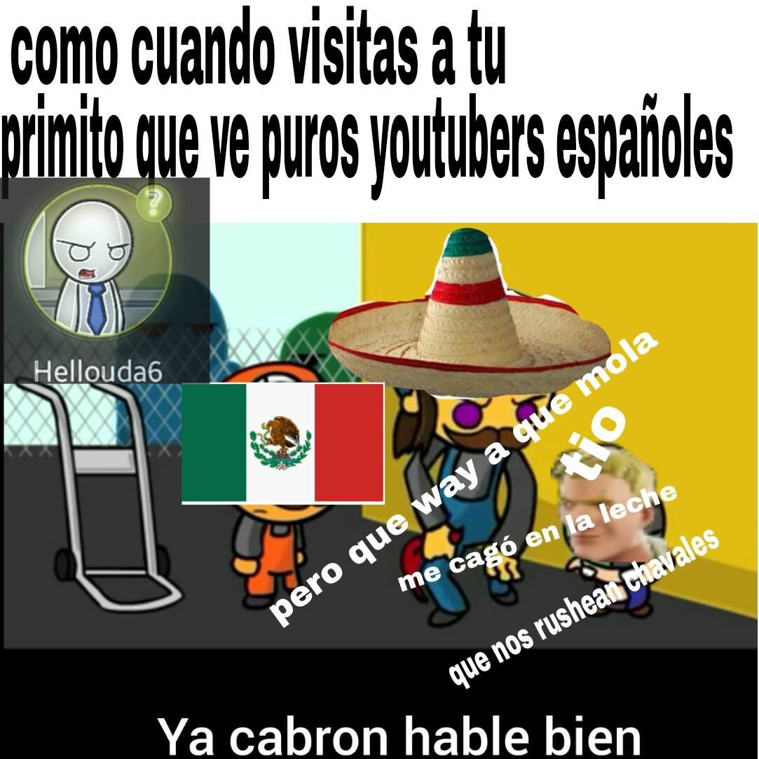 Pasa tambien con los chilenos - meme