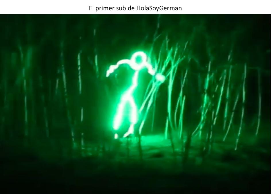 EL PRIMER SUB DE HOLASOYGERMAN - meme