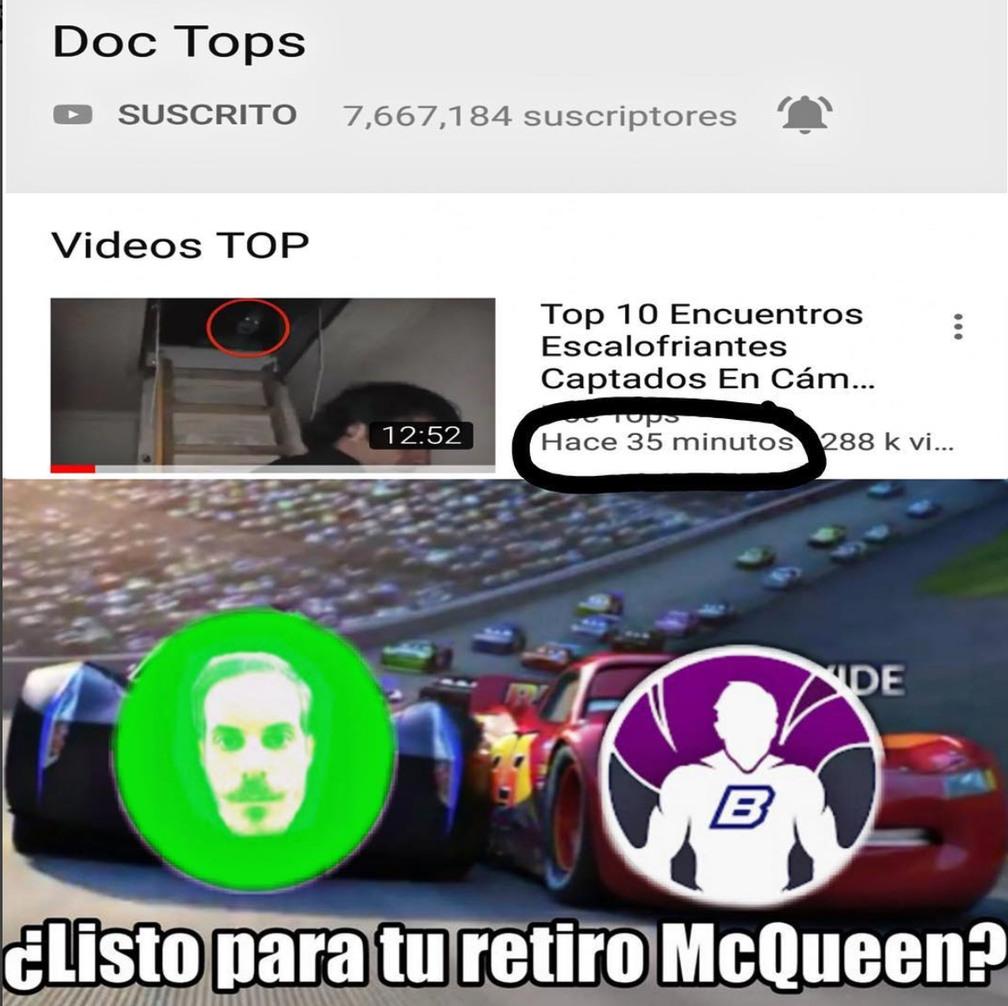Carita verde para Doc tops - meme