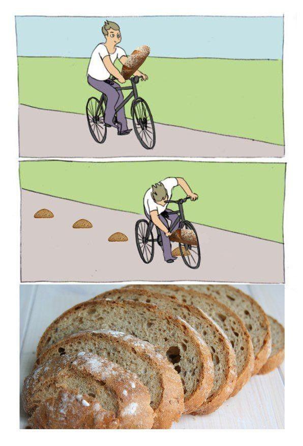 É o bread - meme
