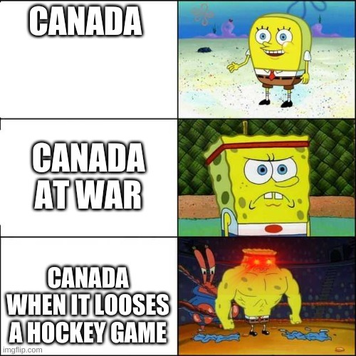 canada all the way - meme