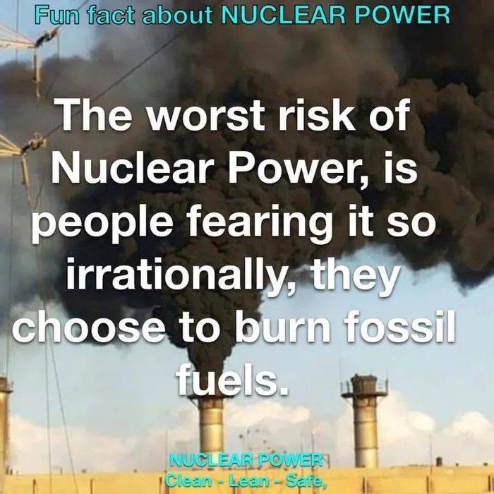 The future is nuclear - meme