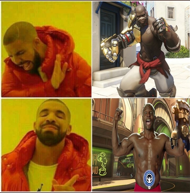 I still want Terry for Doomfist - meme