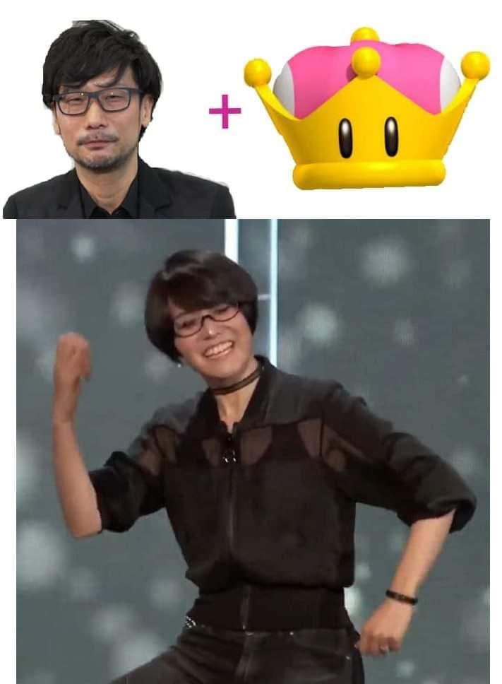 El Kojima versión mujer de la E3 - meme