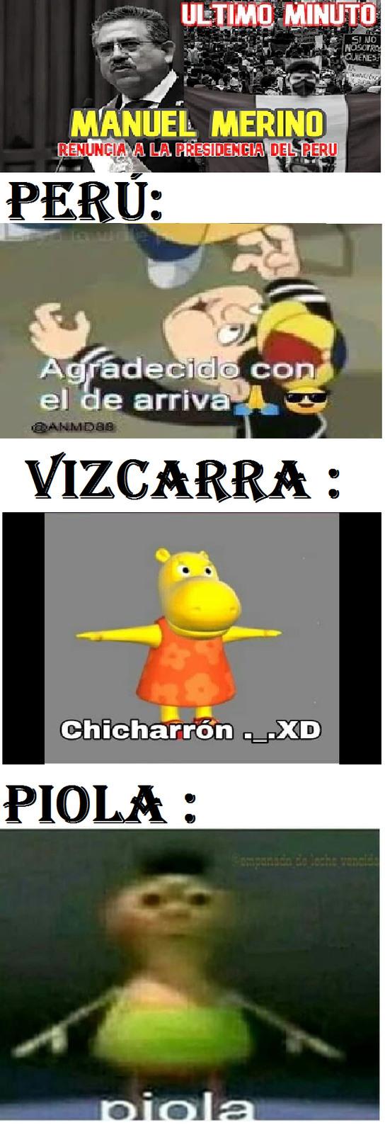 soy de Perú :) - meme