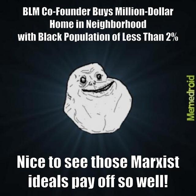 BLM millionaire - meme