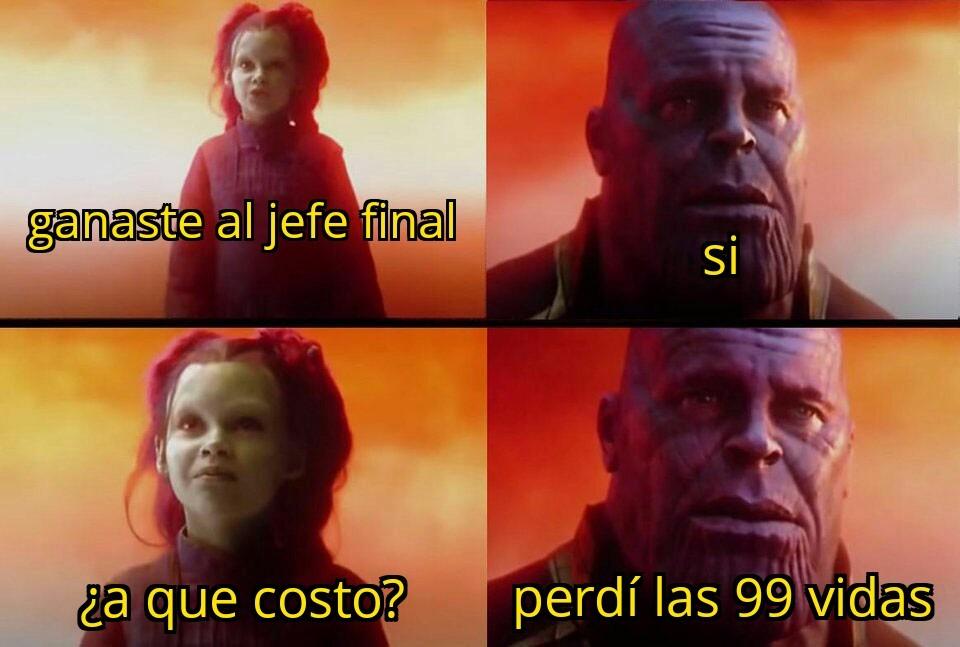 El costo - meme