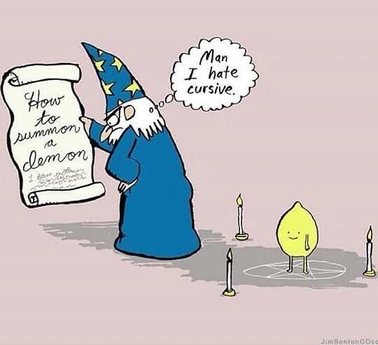 demon lemon - meme