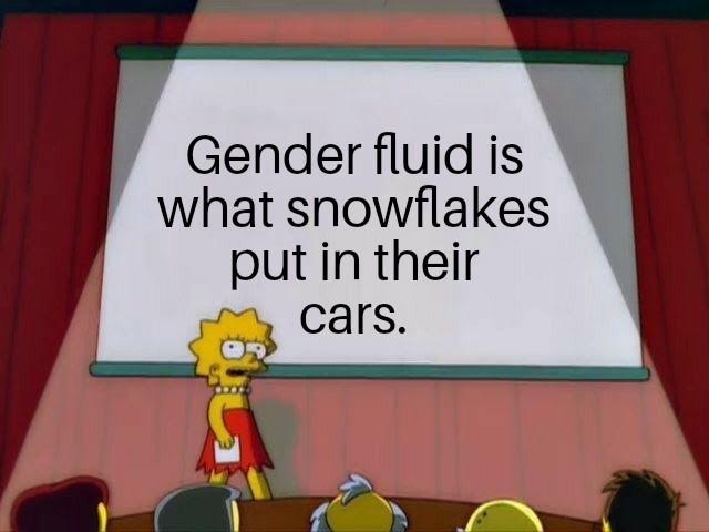 Snowflakes - meme