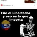 """Todos los extranjeros que critican a Bolivar por vainas que leen por internet me la pueden mamar, PD: """"meme""""droid"""
