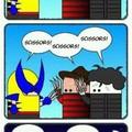 Lol wolverine's my third favorite superhero after Spidey and Batman