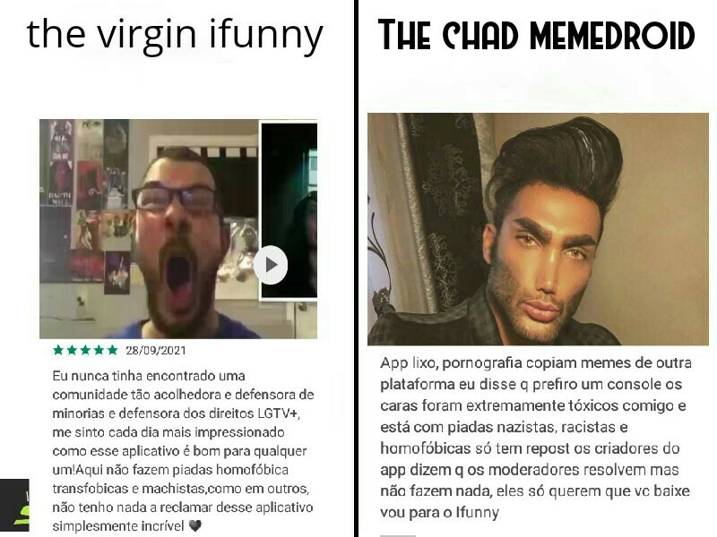 Nos somos as lendas - meme