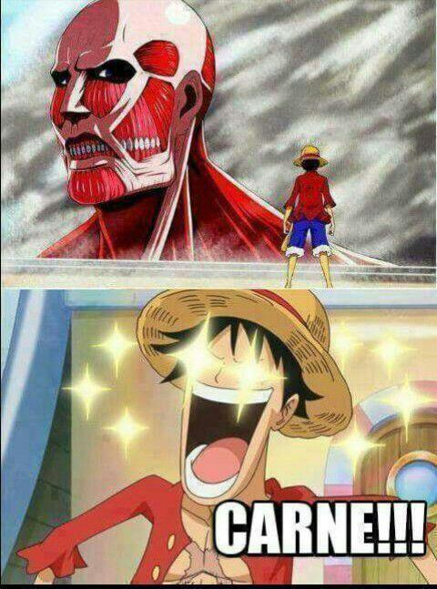 Luffy - meme