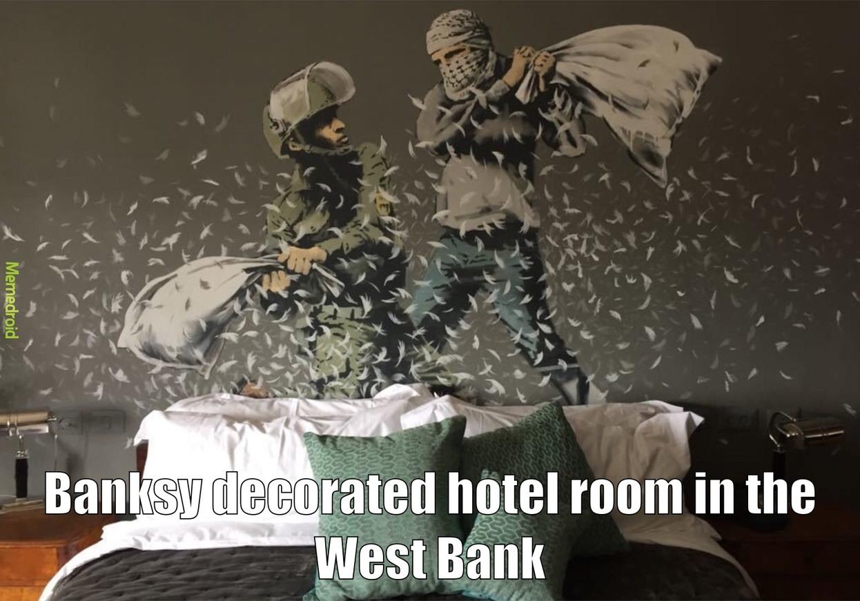 Banksy - meme
