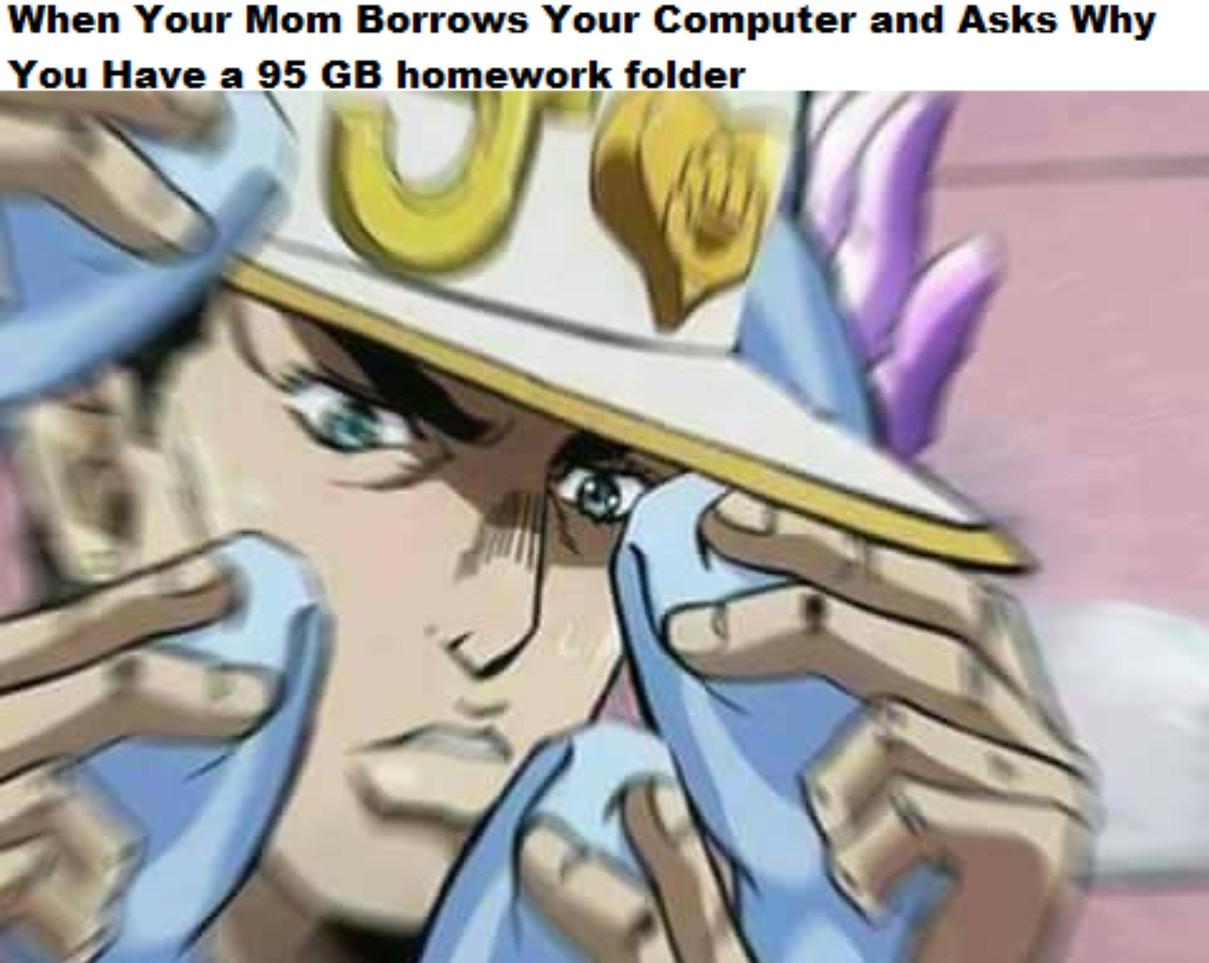 ZA WARUDO - meme