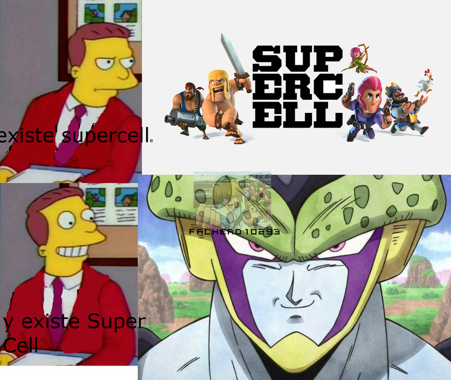 Supercell y Super Cell - meme