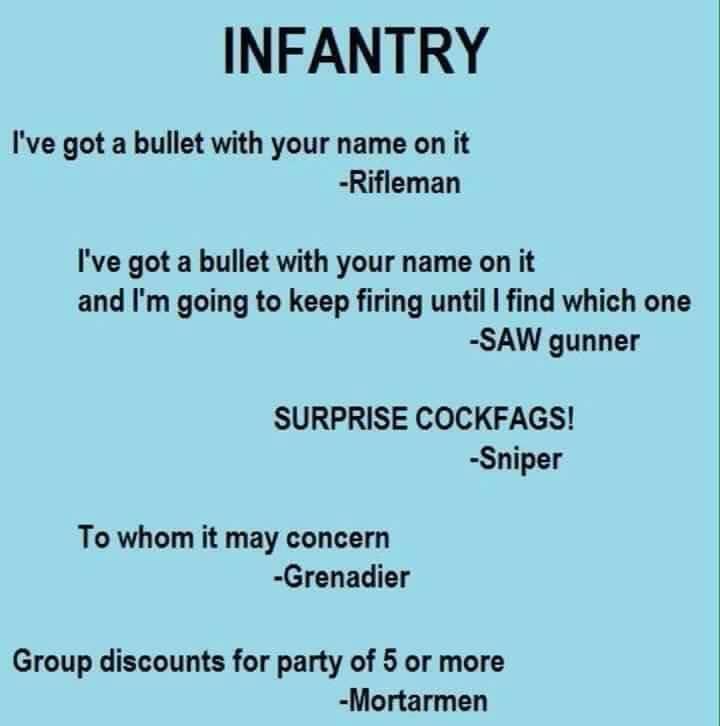 Infantry - meme